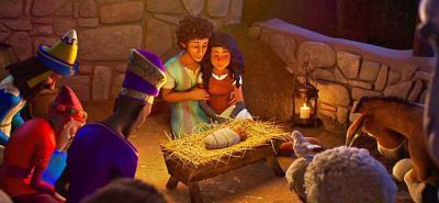 'La estrella de belén', la cinta animada narra el nacimiento de Jesús