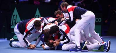 Francia venció a Bélgica y se coronó campeón de la Copa Davis