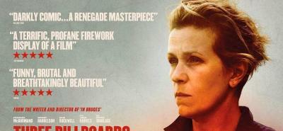 'Tres anuncios por un crimen' la cinta de drama y humor negro que busca triunfar en los Oscar