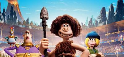 El Cavernícola, la película que combina  la animación con plastilina, el humor y el fútbol