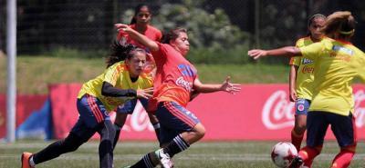 Con tres santandereanas Colombia se prepara para la Copa América