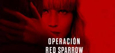 Operación red Sparrow: la nueva película que protagoniza Jennifer Lawrence