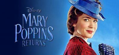 Mary Poppins regresa a la pantalla grande 54 años después