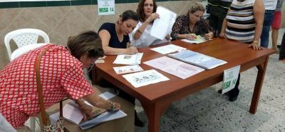 Reportan alteraciones por falta de tarjetones para consulta en Bucaramanga