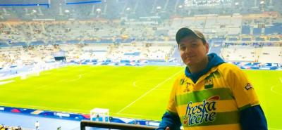 Así vivieron el partido Colombia – Francia los santandereanos en el estadio Stade de France