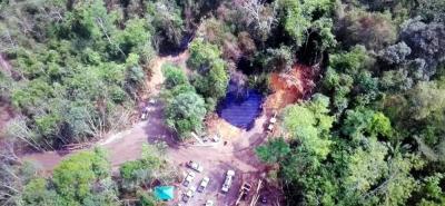 Así se ve el desastre ambiental tras el derrame de crudo en Barrancabermeja