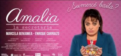'Amalia la secretaria', una película colombiana de drama y comedia