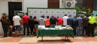 Así funcionaba una red que distribuía estupefacientes en Bucaramanga