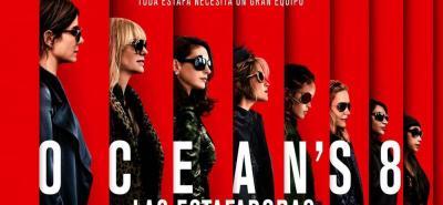 """Sandra Bullock, Rihanna y Anne Hathaway protagonizan """"Ocean's 8: las estafadoras"""""""
