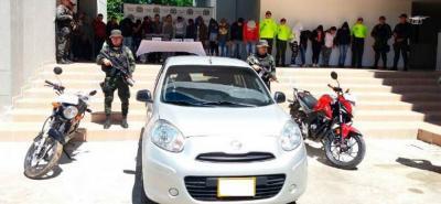 Cae banda en Santander que utilizaba a un bebé para traficar estupefacientes