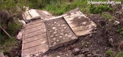 Este es el rostro de la tragedia por remoción de tierra en Enciso, Santander