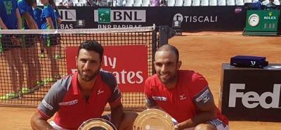 Los tenistas colombianos ocupan ocupan la sexta posición en el escalafón ATP de dobles.