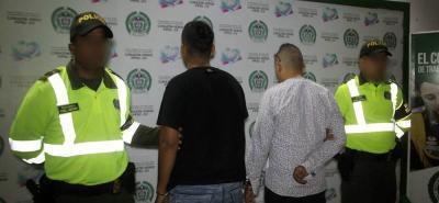 Cuatros capturados por tráfico de estupefacientes dejan dos operativos en Bucaramanga