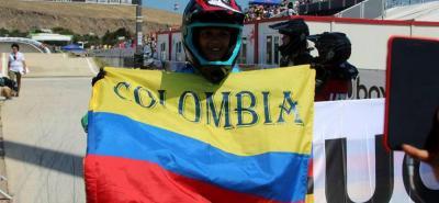 Santandereana Sara García Marín se coronó subcampeona en el Mundial de BMX