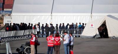 Llegaron a España 274 de los 630 inmigrantes del Aquarius