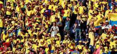 Así se canta la pasión por un país: !Vamos Colombia!
