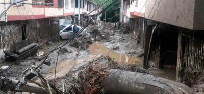 Estos son los videos de la emergencia en San Gil tras fuerte aguacero