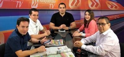 Hablaremos del partido del Atlético Bucaramanga contra Once Caldas.