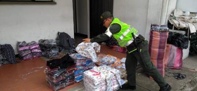 Incautan  mercancía de contrabando avaluada en más de $439 millones