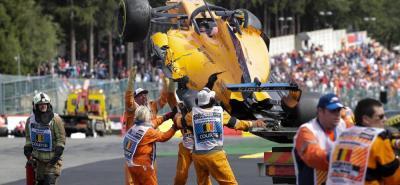 """""""Nadie lo hace aposta pero hay que saber hacer salidas"""", manifestó Alonso"""