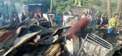 Los videos de la emegercia tras el incendio en Bucaramanga