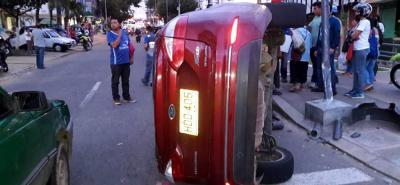 El hecho ocurrió en la calle 32, cerca la Plaza Guarín.