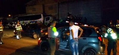 Nuevamente, las caravanas de motociclistas fomentaron el desorden y el caos en la ciudad.