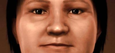 Reconstruyen el rostro de una indígena de 1.600 años en Uruguay