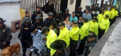 En 2018 han capturado 2.016 personas por tráfico de drogas en Bucaramanga