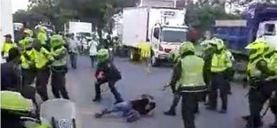 Transportadores informales denuncian presunto abuso de autoridad en Girón
