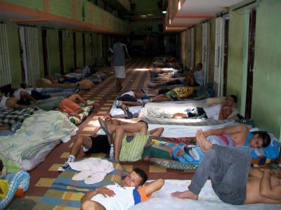 Hacinamiento en la cárcel Modelo de Bucaramanga.
