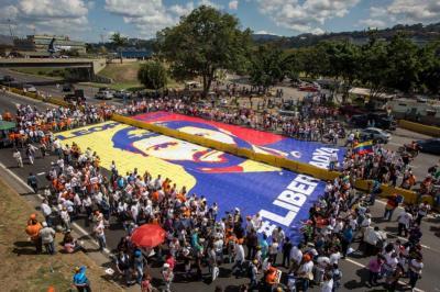 Venezolanos marcharon para pedir la liberación de Leopoldo López