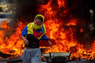Imágenes más impactantes de la crisis en Venezuela