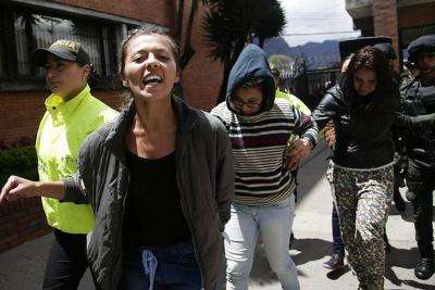 Se inició judicialización de los detenidos por atentado en centro comercial Andino