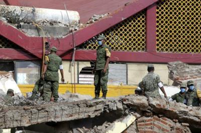 Estremecedoras imágenes del terremoto en México