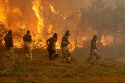 Fuerte incendio en España y Portugal deja 37 muertos y 71 los heridos