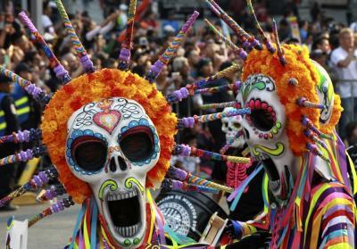 Así se conmemora el Día de los Muertos en México
