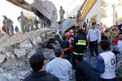 Las devastadoras imágenes del terremoto en Irán