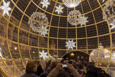 Así se encendió la navidad en las principales ciudades del mundo