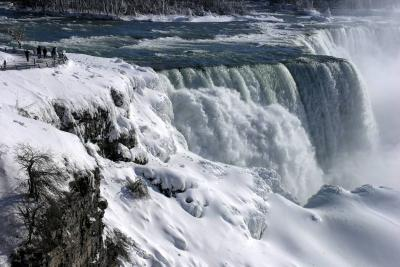 Las impactantes imágenes del invierno que azota a Norteamérica