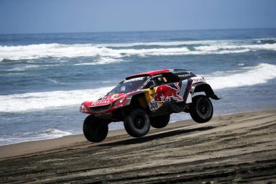 Vea las impactantes imágenes del Rally Dakar, en su paso por Bolivia