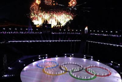 Así fue la clausura de los Juegos Olímpicos de Invierno 2018