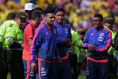 Vea las mejores fotos de la llegada de la Selección Colombia a Bogotá