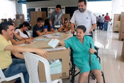 Así han salido a votar la Consulta Anticorrupción en Bucaramanga y el área metropolitana