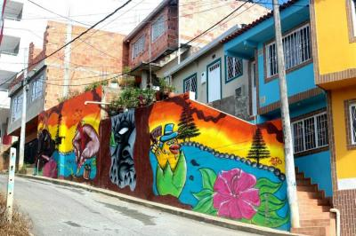 Estas son las 'casitas de colores' que gustan en Bucaramanga