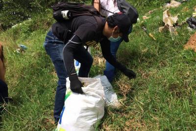 Jornada de limpieza: 35 toneladas de basura se recogieron en Bucaramanga