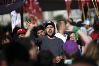 Calles vacías al inicio de la huelga general en Argentina