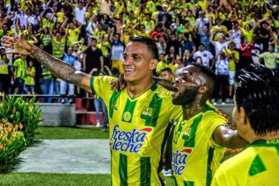 Las mejores imágenes de la victoria del Atlético Bucaramanga ante Deportivo Cali