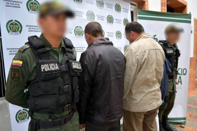 Así extorsionaba la banda delincuencial denominada 'Legión de la muerte' en Santander