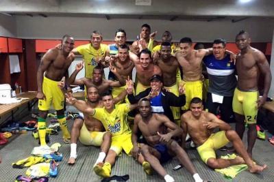 Así celebró Bucaramanga el triunfo sobre América